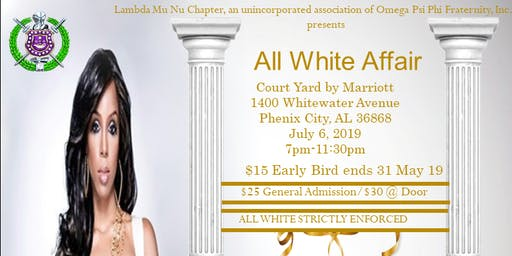 Lambda Mu Nu All White Affair