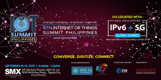 IoT Summit and IPVG6 + 5G Global Summit