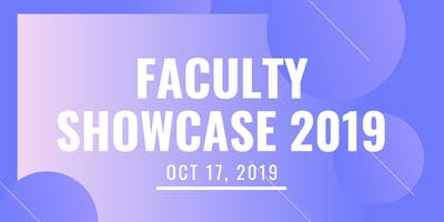 University of Miami Faculty Showcase: Fall 2019