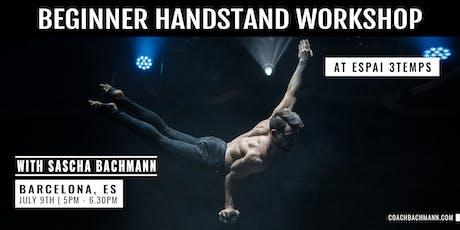 Beginner Handstand Workshop tickets