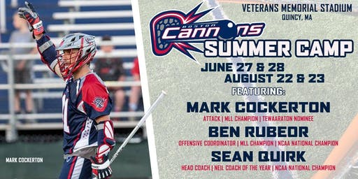 Boston Cannons Summer Day Camp