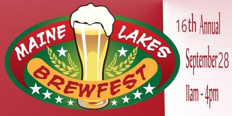 2019 Annual Maine Lakes Brewfest tickets