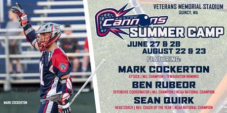 Boston Cannons Summer Day Camp  tickets