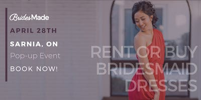 BridesMade Pop-Up Dress Fitting Event - SARNIA, ON - April 28, 2019