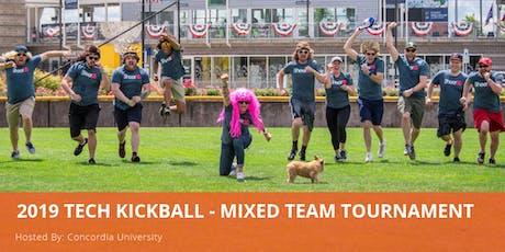 2019 Tech Kickball - Mixed Team Tournament tickets