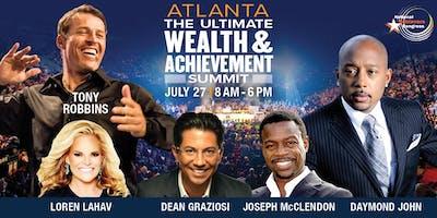 Tony Robbins & Daymond John Live! Atlanta