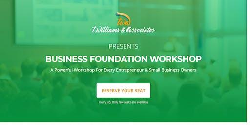Business Foundation Workshop