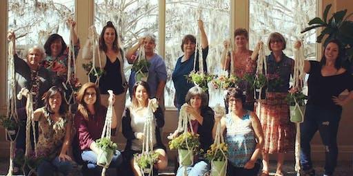 Macrame Plant Holder DIY for Adults