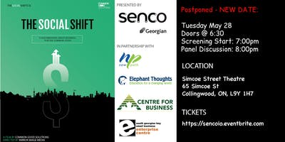 Collingwood - The Social Shift Screening & Panel Discussion - May 28
