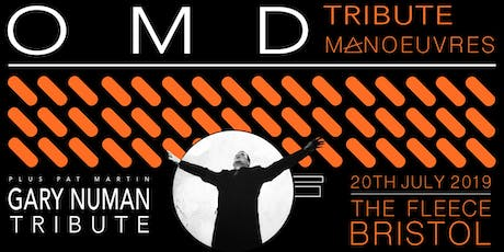 OMD tribute (Manoeuvres) + Gary Numan tribute (Pat Martin) tickets