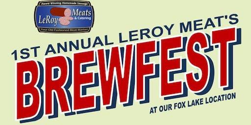 Leroy Meats Brewfest