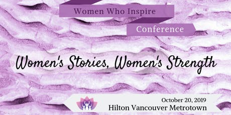 Women Who Inspire Conference 2019 tickets