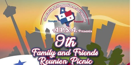 Panamanian Association of San Antonio 9th Annual Family and Friends Reunion tickets