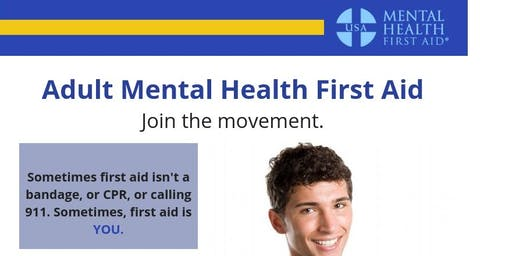 PCCS Adult Mental Health First Aid