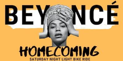 Beyonce Homecoming | Saturday Night Light Bike Ride