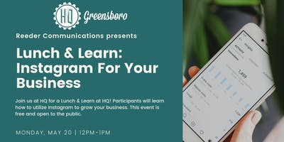 Lunch & Learn: Instagram For Your Business