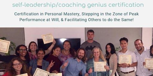 Self-Leadership Certification | Coaching Genius