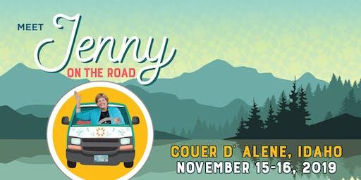 Jenny on the Road, Coeur d' Alene IDAHO #1