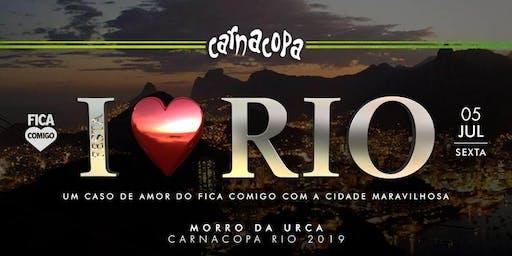 I Love RIO by Fica Comigo : CarnaCopa : FinalsWeekend