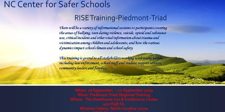 RISE Training-Piedmont-Triad tickets