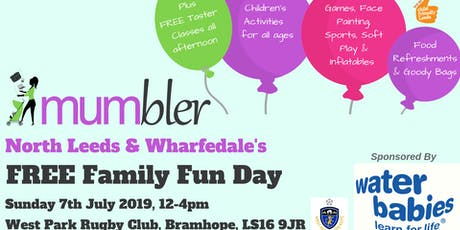 North Leeds & Wharfedale Mumbler FREE Family Fun Day tickets