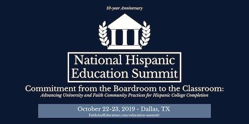 National Hispanic Education Summit - 10-year Anniversary