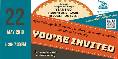 Project ReCharge Year End Student and Teacher Recognition Event