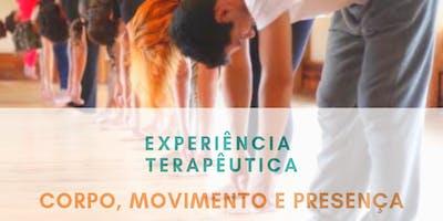Experiência Terapêutica: Corpo, Movimento e Presença.