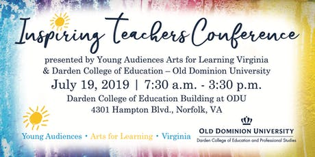 YAV & ODU Inspiring Teachers Conference 2019 tickets