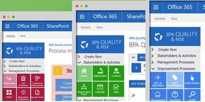 Shift to Collaborative Quality with Office 365 (Live demo during ASQ WCQI, TX)