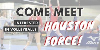 Meet Houston Force Event