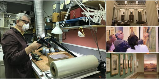 After-Hours Tour @ New York Historical Society & Conservation Lab
