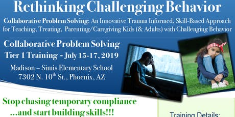 Collaborative Problem Solving Tier 1 Training - Trauma-Informed Approach tickets