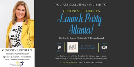 Genevieve Piturro's Launch Party Atlanta! tickets