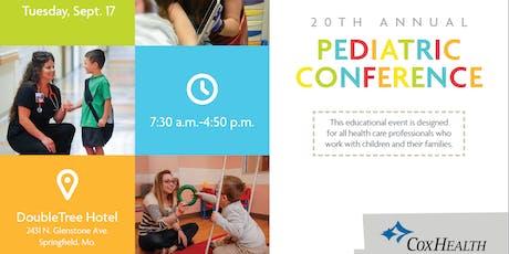 CoxHealth's 20th Annual Pediatric Conference tickets