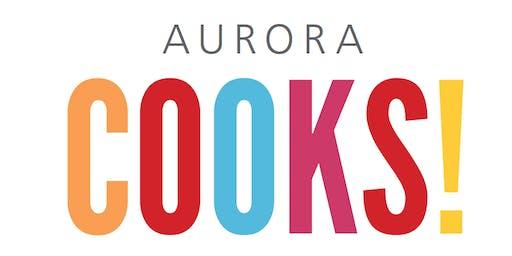 Aurora Cooks! Demonstration: Brunch 11:30 am