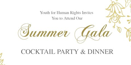 Youth for Human Rights Summer Gala tickets