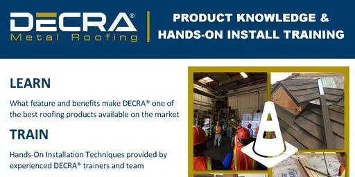 DECRA Installation Training - Williamsburg, MI