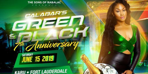 Calabar's 7th Annual, Green and Black Miami
