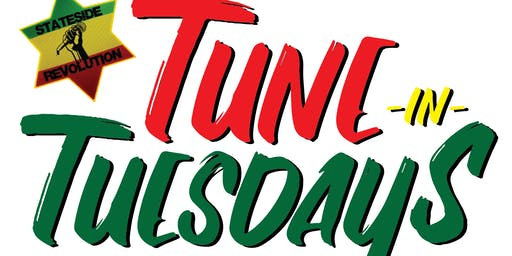TUNE IN TUESDAYS TONIGHT JUNE 11TH WITH REGGAE/AFROBEATS/SOCA 1OPM-4AM