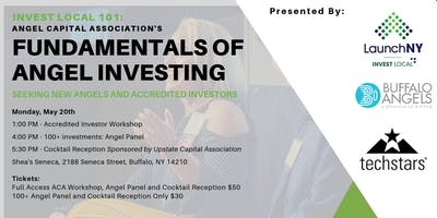 Invest Local 101: Fundamentals of Angel Investing with ACA, WNY Venture Association and Launch NY