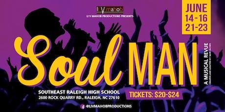 Soul Man: A Musical Revue tickets