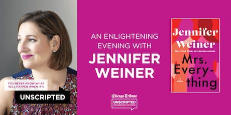 Chicago Tribune's Unscripted presents Jennifer Weiner tickets