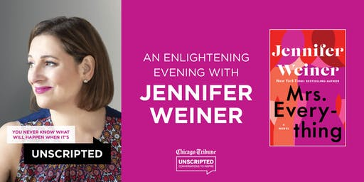 Chicago Tribune's Unscripted presents Jennifer Weiner