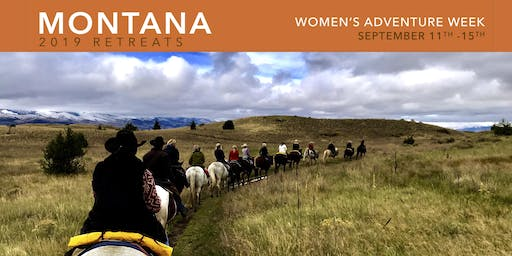 WOMEN'S ADVENTURE WEEK-MONTANA 2019