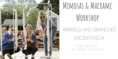 Macrame Plant Hang Workshop at Barrels and Branches