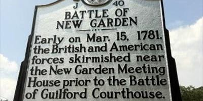 Battle of New Garden - Price Park History Stroll