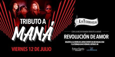 Tributo a Maná - con el mejor grupo tributo Revolución de Amor tickets