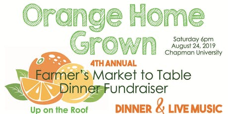 4th Annual OHG Farmer's Market to Table Dinner Fundraiser tickets