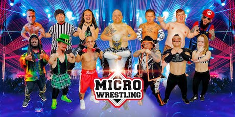 21 & Up Micro Wrestling at Tiny Town!  tickets